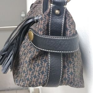 Fossil Bags - LEATHER & CANVAS FOSSIL PURSE